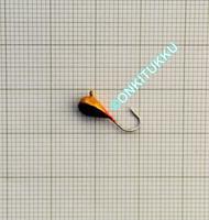 Volframi-mormuska 4mm #12 lenkki maali