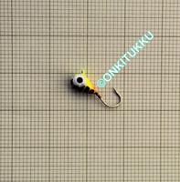 Volframi-mormuska 4mm #12 lenkki raidal