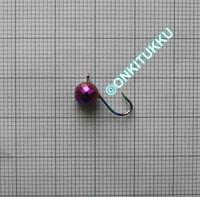 Volframi Prisma 6mm koukku #10 lenkki sateenkaari kromi