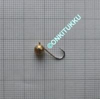 Volframi Prisma 5mm koukku #12 lenkki kulta