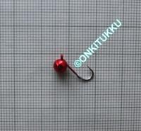 Volframi Prisma 5mm koukku #12 lenkki punainen kromi