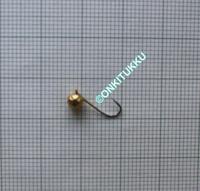 Volframi Prisma 4mm koukku #14 lenkki kulta