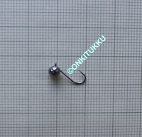Volframi Prisma 4mm koukku #14 lenkki tumma kromi