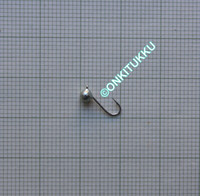 Volframi Prisma 3mm koukku #16 lenkki vihreä kromi