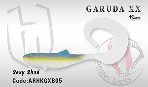 Garuda XX 15cm, Sexy Shad 1kpl