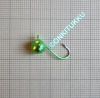 Volframi Prisma 7mm koukku #6 vihreä kromi