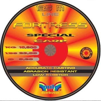 Fortress Special Carp PILKKISIIMOJEN 1. 0,30mm