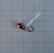 Volfram Porin kilpa 6mm #8 lenkki kupari