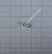 Volfram Porin kilpa 3mm #20 lenkki hopea
