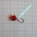 Volframi Prisma 7mm #4 lenkki punainen
