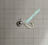 Volframi Prisma 6mm #6 lenkki hopea