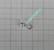 Volframi muurah. 3mm #14 lenkki hopea