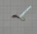 Volframi hyttynen koko3 #14 lenkki matta