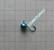 Volframi Prisma 6mm koukku #10 lenkki sininen kromi