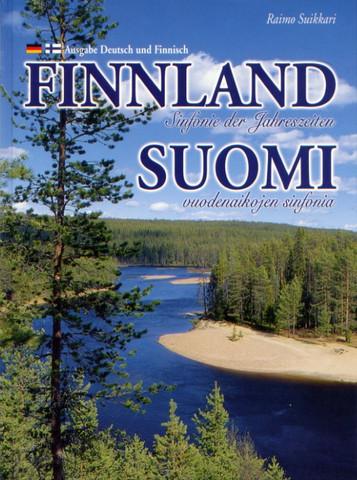 Finnland Sinfonie der Jahreszeiten (saksa-suomi, pehmeäkantinen)