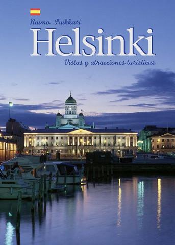 Helsinki Vistas y atracciones turisticas (espanja, pehmeäkantinen)