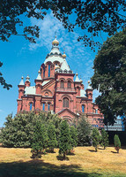 Postikortti Uspenskin katedraali / The Uspenski Cathedral, Helsinki, pysty, PS-T03-05