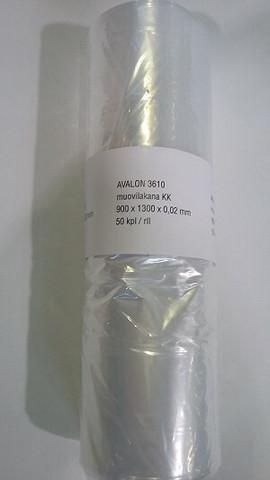 Muovilakana 900x1300mm 50kpl/rulla