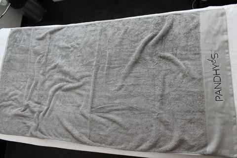 Kylpypyyhe harmaa 80x160cm