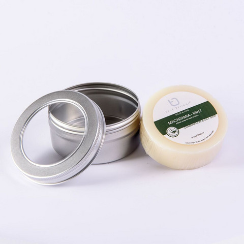 Macadamia -minttu saippua