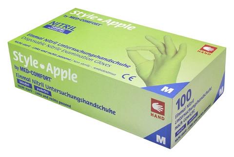 Med Comfort Style Apple nitriilikäsine S