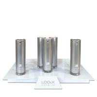 LOOkX Myyntiteline meikkivoiteille / irtoluomiväreille
