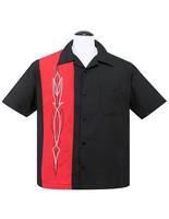Punamusta tribaalikuvio paita