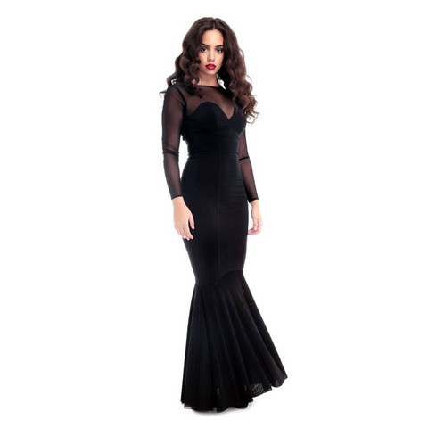 Musta merenneito mekko