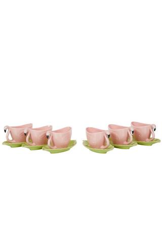 Flamingo kahvikuppi sarja