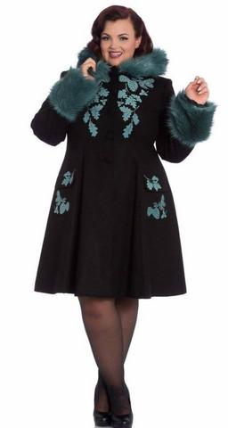Turkoosi musta takki