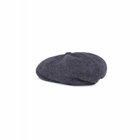 Hiilen harmaa lippahattu, paper boy cap