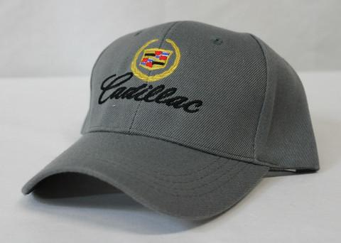 Harmaa Cadillac-lippalakki