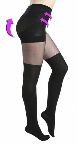 Muokkaavat mustat sukkahousut