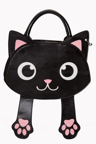 Kissa käsilaukku