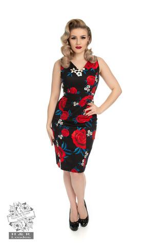 Kapea ruusu mekko