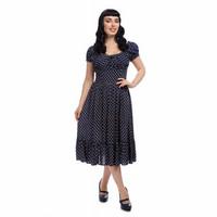 Carmen sateenkaari polkadot mekko