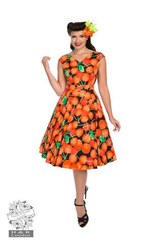 Kirsikkamekko oranssi