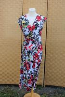 Pariisin punavalkoinen perhoshiha mekko