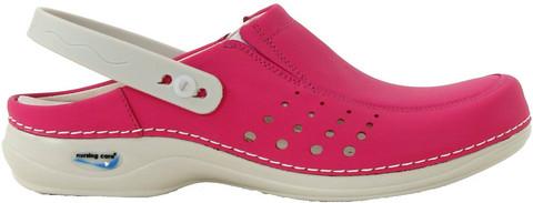 Konepestävät työ-ja vapaa-ajan kengät, pinkki/ fuksian punainen väri