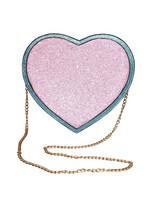 Glitter sydänlaukku
