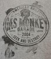 Gas Monkey Garage t-paita
