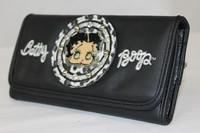 Musta Betty Boop -lompakko