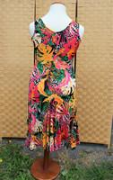 Pariisin malliston värikäs viidakko mekko