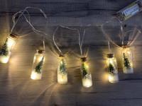 Kuusipullo led-valot (vihreä)