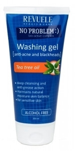 Revuele No Problem Washing Gel Anti-Acne & Blackheads with Tea Tree Oil 200ml