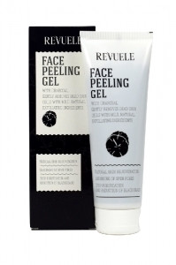 Revuele Face Peeling Gel with Charcoal Powder 80ml
