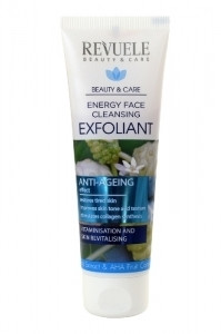 Revuele Energy Face Cleansing Exfoliant with Noni Extract & AHA Fruit Complex 80ml