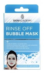 Skin Academy Bubble Mask 3 x 7ml
