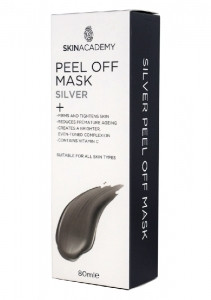 Skin Academy Peel Off Mask - Silver 80ml