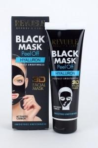 Revuele Black Mask mustapäänaamio - Hyaluronihappo 80ml